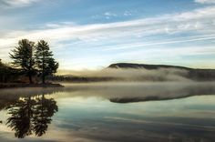 Misty Morning by Mark Papke Prints for sale. Click on picture.