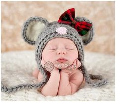 Holiday baby photo props ideas