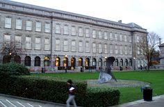 "The Trinity College Library, located at Trinity College, Dublin, is the largest library in Ireland. As a ""copyright library"", it has legal deposit rights for material published in the Republic of Ireland; it is also the only Irish library to hold such rights for the United Kingdom."
