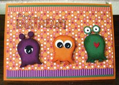 Stampin' Up! Owl Punch Card