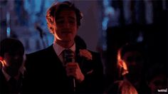 Every single moment of his wedding speech. | 22 Moments Tom And Giovanna Fletcher Restored Our Faith In True Love