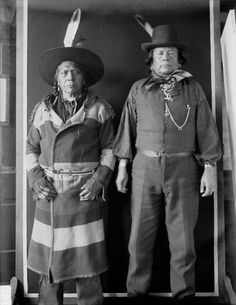 Antoine Moise (Flathead), Pehkotah (Kickapoo) - 1907