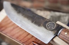 Custom Made Carbon Steel Chef Knife With Box - Biltsharp