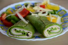 Palacinky na slano, ako ich nepoznáte Healthy Baking, Easy Healthy Recipes, Easy Meals, Healthy Food, Fresh Rolls, Quinoa, Cucumber, Low Carb, Cooking Recipes