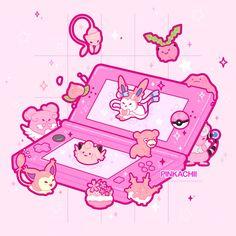Cute Pokemon Wallpaper, Kawaii Wallpaper, Wallpaper Iphone Cute, Kawaii Drawings, Cute Drawings, Animal Drawings, Arte Do Kawaii, Kawaii Art, Pokemon Funny
