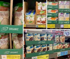 Check out the full list of Aldi organic products! Find out the truth about Aldi, why Aldi food is so cheap, and the organic products they carry. Blue Corn Tortillas, Blue Corn Tortilla Chips, Aldi Organic, Cheap Grocery List, Bolthouse Farms, Aldi Recipes, Aldi Shopping, Avocado Baby, Fair Trade Coffee
