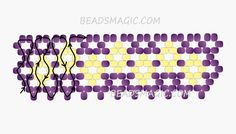 Free pattern for necklace Manuela | Beads Magic - 2 -- Use Seed Beads 11