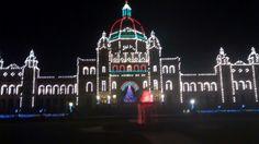 Victoria, BC Christmas at the Parliament