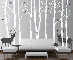 birch-tree-foerst-decal-with-deer-snow-and-birds-winter-land-1161.jpg Tons of color options!