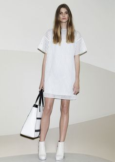 Trussardi Cruise 2014, White Cruise 2014 dresses, wedding dress inspiration, bridal wear, marriage