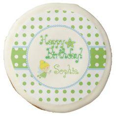 Fairy Birthday Sugar Cookie