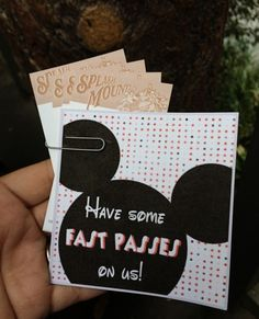 Disneyland Good Deed Cards - this is such a fun tradition to incorporate into…