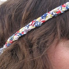 DIY headband hippie
