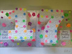 Floral 17th #flowers #floral #bright #17 #seventeen #17th #cake #dlish Birthday Cake Girls, Birthday Cakes, Girl Cakes, Seventeen, Bright, Frame, Floral, Flowers, Decor