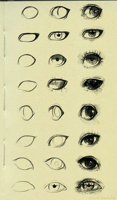 Super Eye Drawing Tutorial Step By Step Character Design Ideas Pencil Art Drawings, Art Drawings Sketches, Cool Drawings, Eye Drawings, Anatomy Sketches, Fantasy Drawings, Drawings On Hands, Sketches Of Eyes, Simple Art Drawings