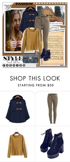 """Yoins 14-http://yoins.me/1PrM4be"" by angel-a-m ❤ liked on Polyvore featuring VILA, WithChic, women's clothing, women, female, woman, misses, juniors, beautiful and fashionset"