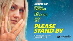 PLEASE STAND BY starring Dakota Fanning | Official Trailer | In select theaters January 26, 2018