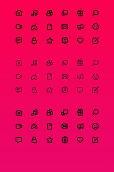 Life Icons #icon #icons #freebie #free