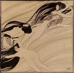 Gustav Klimt, Fish Blood, 1898,