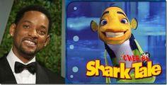 "Will Smith – Oscar (""Shark Tale"") Disney University, Cartoon Movies, Voice Actor, Cool Cartoons, Will Smith, The Voice, Animation, Fish"
