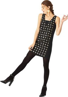 Gold Dot Dress - 40% off everything!