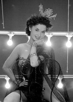 1950's showgirl.