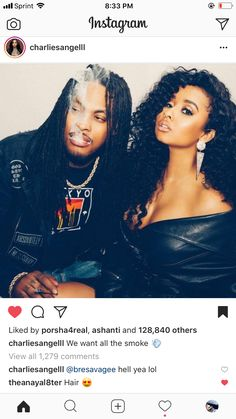 Tammy and Waka 👑💕 Pinterest:Love x Nyra M Waka Flocka And Tammy, Tammy And Waka, Tammy Rivera, Media Images, Black Love, Celebrity Couples, Couple Goals, Cute Couples, Stylists