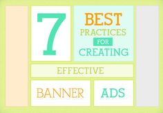 7 Best Practices of Creating Effective Banner Ads Graphic Design Tips, Ad Design, Design Ideas, Best Banner, Display Advertising, Best Practice, Layout Inspiration, Ecommerce, Banners