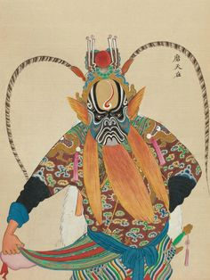 Plate from 'One Hundred Portraits of Peking Opera Characters' – Flashbak Shop