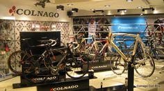 colnago back drop showroom