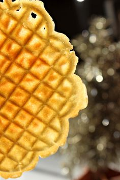 Christmas Pizzelle | Oysters & Pearls
