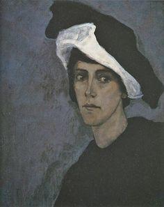 Romaine Brooks, (American expatriate artist, 1874-1970) Self Portrait 1912
