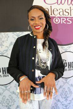 MC Lyte at the BET Hip Hop Awards