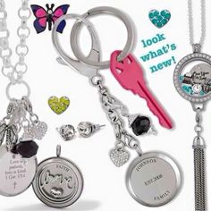 Origami Owl {Bag Clip & Key Chain Collection}