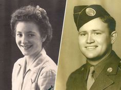 71 Years Later, WWII Vet Reunites with Wartime Girlfriend in Australia: 'This Is the Most Wonderful Thing'  Couples, World War II, People Scoop