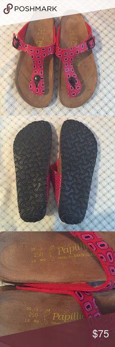 🍃SALE🍃Papillon Gizeh Birkenstock Super cute Birkenstock sandals. In great conditions minimal wear size 39. Birkenstock Shoes Sandals