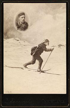 Fridtjof Nansen, Kristiania, 1889