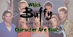 """Which """"Buffy The Vampire Slayer"""" Character Are You? I got Faith!"""