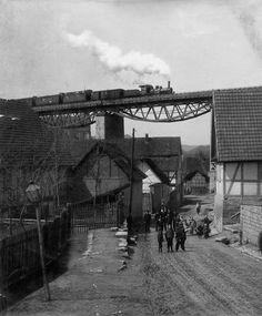 Lengenfeld unterm Stein um 1913 (Foto: Aloys Mecke)