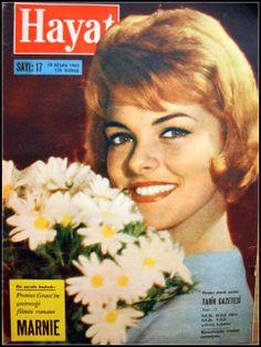 OĞUZ TOPOĞLU : perrette pradier hayat dergisi kapağı 1962 yabancı...