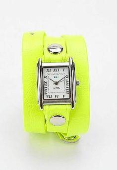 La Mer neon watch (yellow)