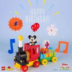 Happy Birthday to everybody's best pal, Mickey Mouse! #LEGO #LEGODuplo #MickeyMouse #Disney #EverthingIsAwesome