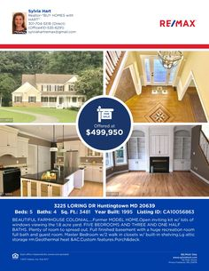 3225 LORING DR. HUNTINGTOWN,MD.2039 OPEN HOUSE OCT.1 12-2PM