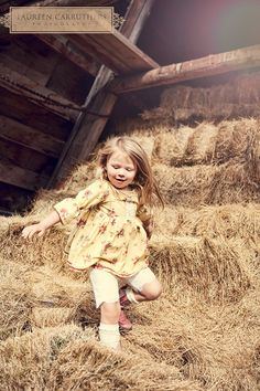 Playing In The Barn Hay Loft