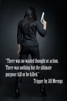 Trigger by Jill Meengs  Promo by Ruth Silver