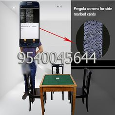 A small label camera is installed in the marked cards trouser cheating device which helps the user to scan cheating poker cards. This cheating camera has a remote control to turn the camera on and off, and also can move the camera to different directions and adjust the focus of the camera for getting best results. Visit us for more information: http://www.spycheatingplayingcards.com/spy-playing-cards-in-aurangabad.html