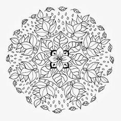 Mandalas Para Pintar - amazing blog with more than 1500 mandalas!