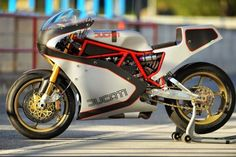 Ducati TT replicated frame with motor