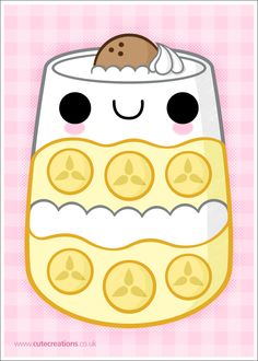 COMMISSION: Banana Pudding by Cute-Creations.deviantart.com on @deviantART