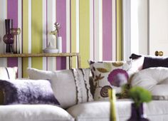 Anoushka Wallpaper and Fabric (source Harlequin) Wallpaper Australia / The Ivory Tower